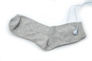 tens machine socks